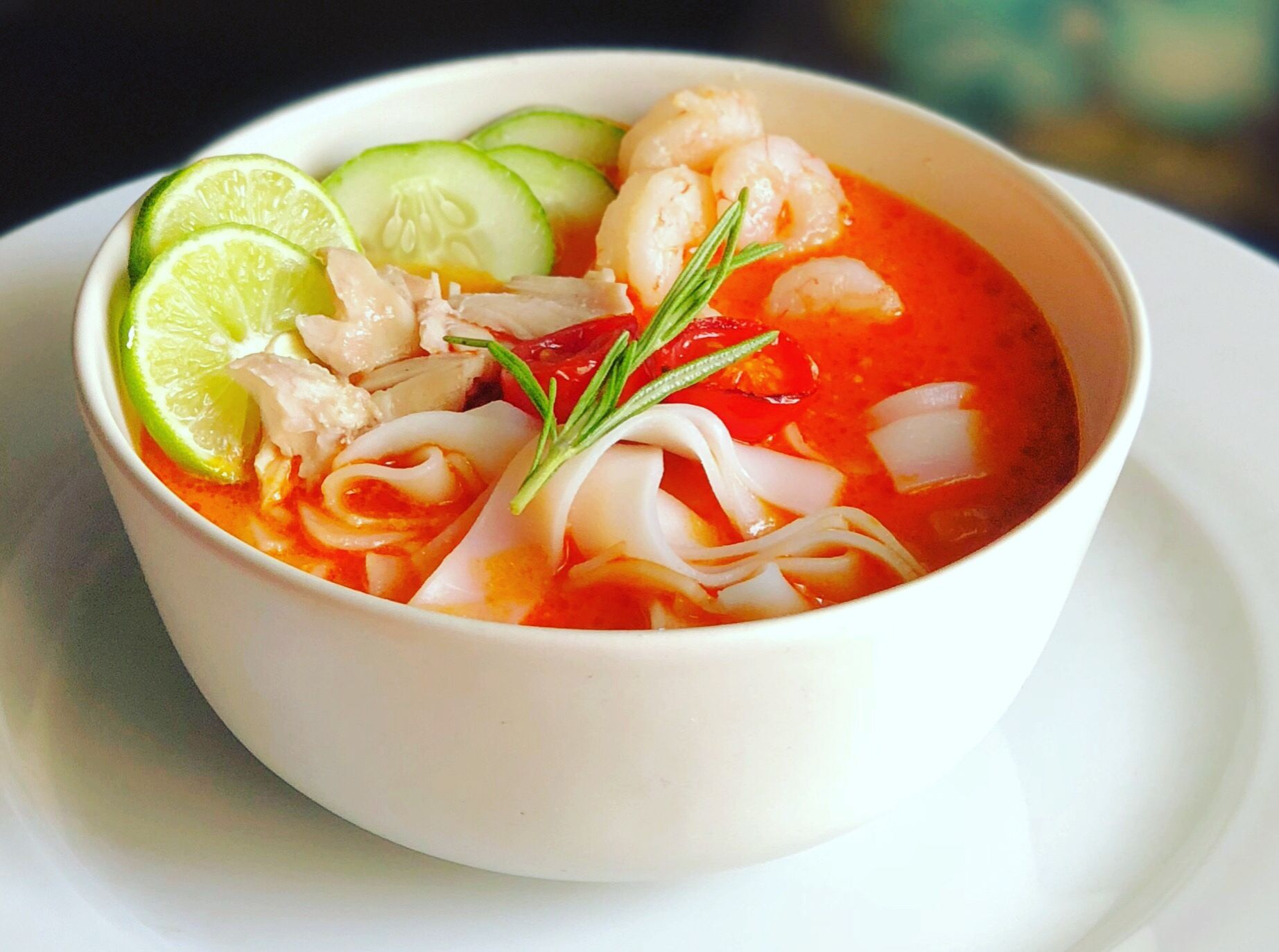 Laksa Soup Malaysian Red Curry Soup Homemade Delights